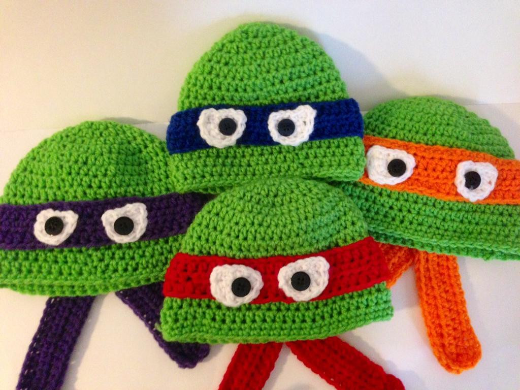 Crochet Ninja Turtle Hat Unique Craftdrawer Crafts Free Crochet Teenage Mutants Ninja Of Innovative 46 Pictures Crochet Ninja Turtle Hat