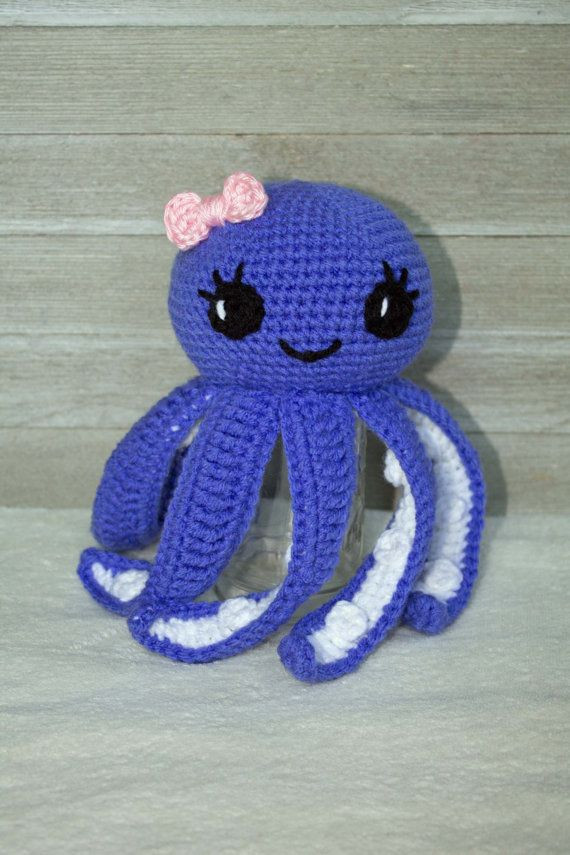 Crochet Octopus Pattern Beautiful De 25 Bedste Idéer Inden for Crochet Octopus På Pinterest Of Amazing 50 Photos Crochet Octopus Pattern