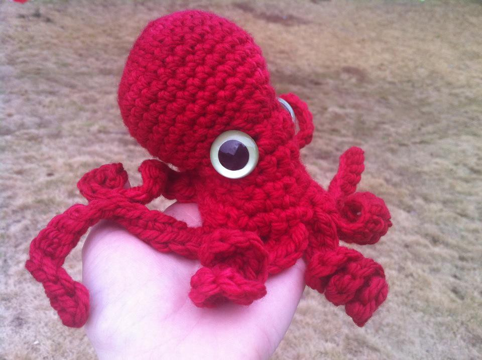 Crochet Octopus Pattern Beautiful Spicy Pinecone Crochet Octopus and New Baby Blankets Of Amazing 50 Photos Crochet Octopus Pattern
