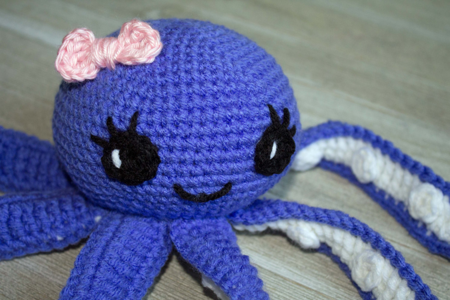Crochet Octopus Pattern PATTERN ONLY Amigurumi Octopus Pattern