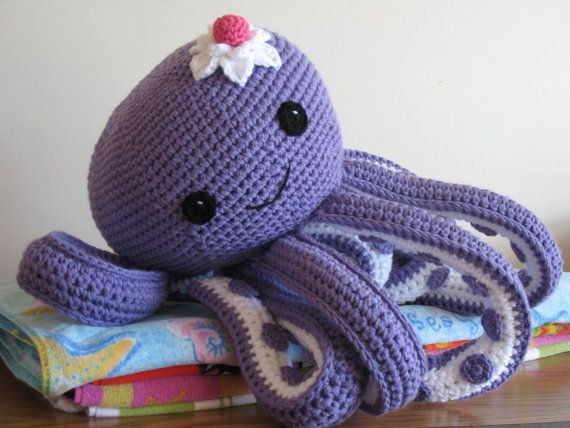 Crochet Octopus Pattern Fresh Octopus Novelty Pillow Pdf Pattern Free Pattern for Mini Of Amazing 50 Photos Crochet Octopus Pattern