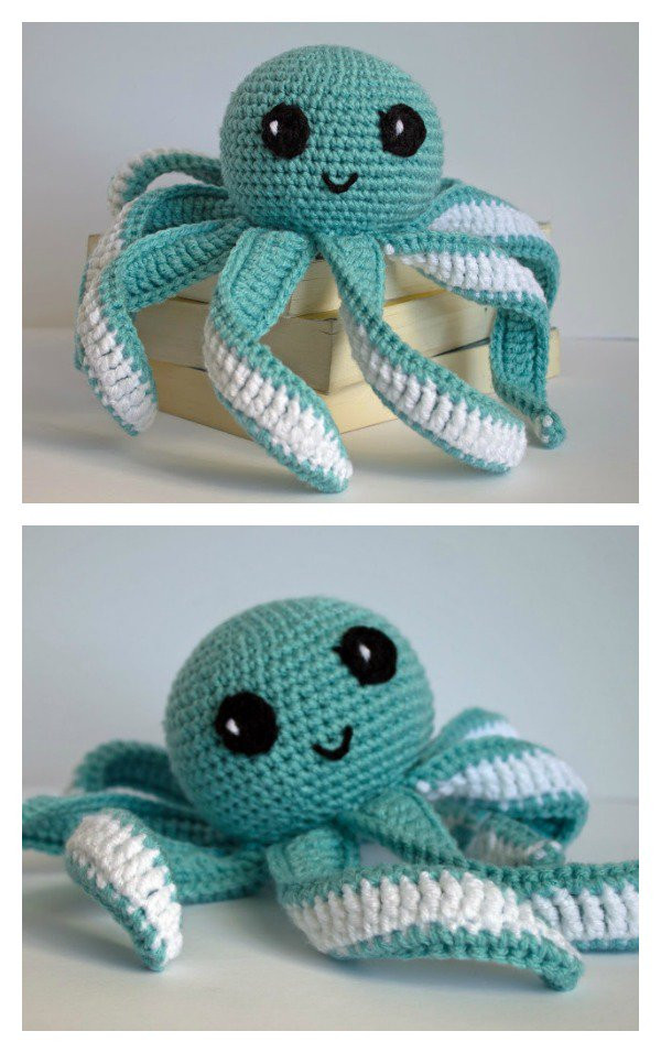 Crochet Octopus Pattern Luxury Amigurumi Octopus Baby toy Free Crochet Pattern Of Amazing 50 Photos Crochet Octopus Pattern