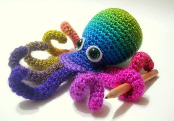 Crochet Octopus Pattern Unique Amigurumi Crochet by Allsocute Of Amazing 50 Photos Crochet Octopus Pattern