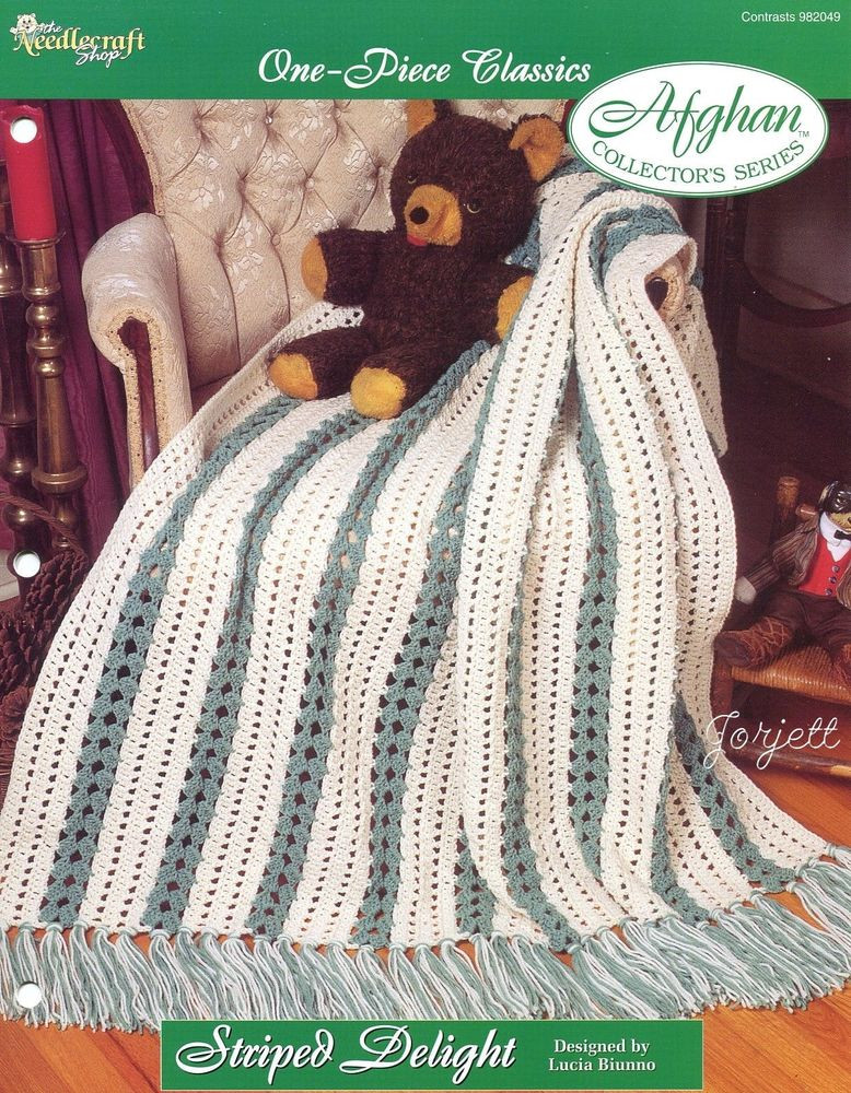 Crochet One Piece Best Of Striped Delight Afghan E Piece Classics Crochet Pattern Of Marvelous 47 Pictures Crochet One Piece