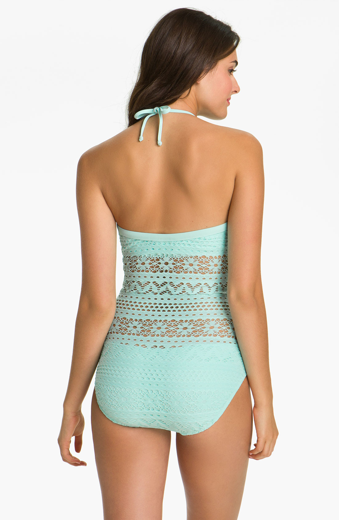 Crochet One Piece Lovely Robin Piccone Penelope Crochet Overlay E Piece Swimsuit Of Marvelous 47 Pictures Crochet One Piece