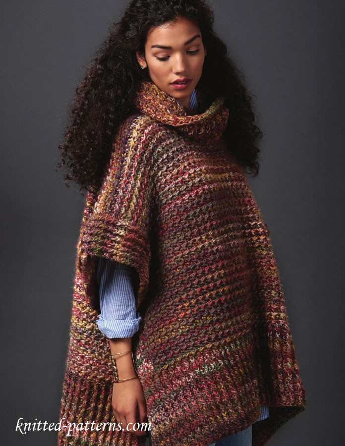 Crochet or Knit Unique Poncho Crochet Pattern Free Of Superb 42 Pics Crochet or Knit