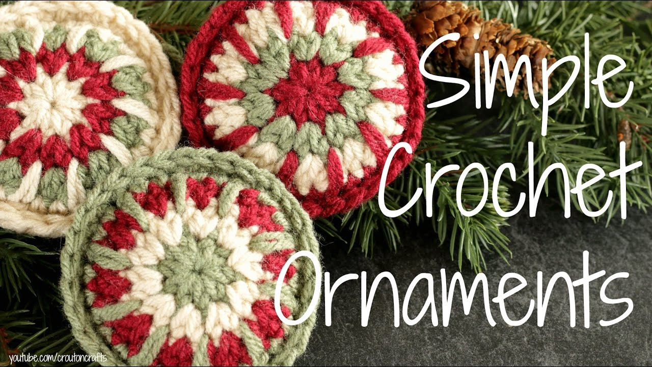 Crochet ornament Best Of Simple Crochet ornaments Crocheted Christmas ornament Of Unique 43 Images Crochet ornament