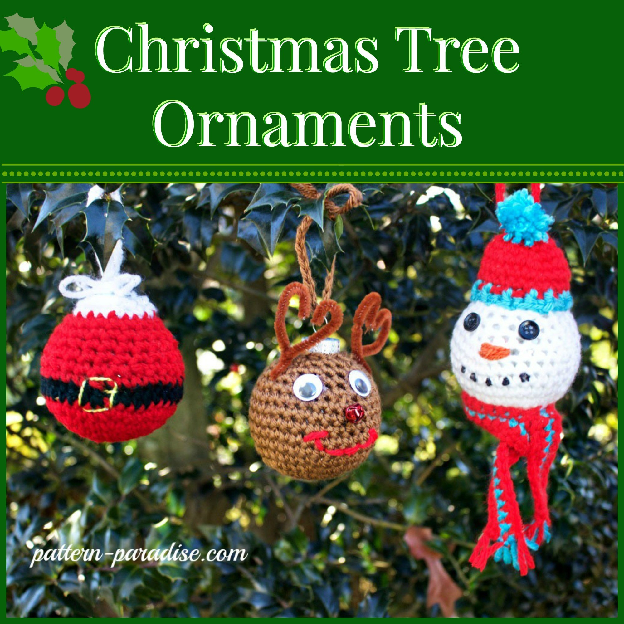 Crochet ornament Inspirational Free Crochet Pattern Christmas Tree ornaments Of Unique 43 Images Crochet ornament
