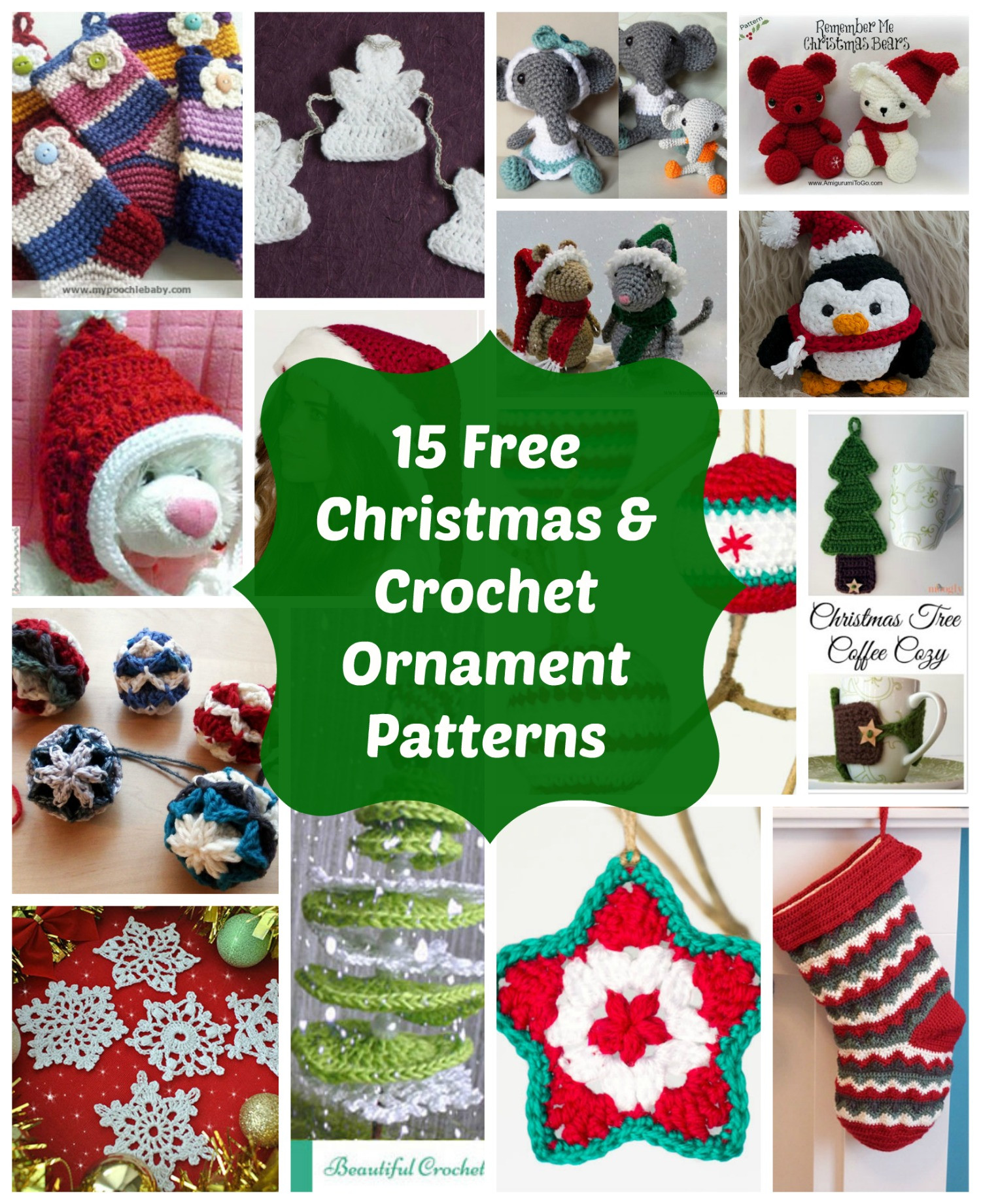 Crochet ornament New 15 Most Loved Free Crochet Christmas ornaments and Holiday Of Unique 43 Images Crochet ornament