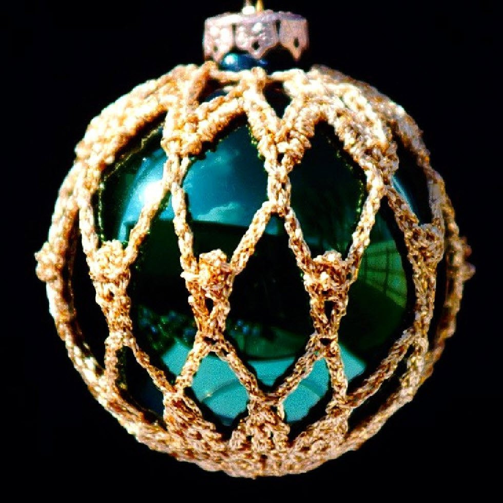 Crochet ornaments Beautiful Crochet Christmas ornament Covers Pdf Pattern From Book Of Top 44 Images Crochet ornaments