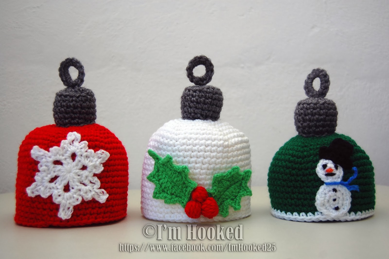 Crochet for Baby's First Christmas – free patterns