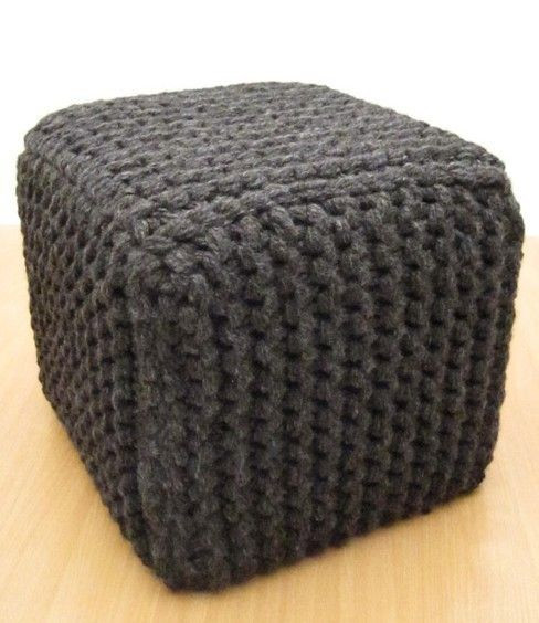 Crochet Ottoman Awesome 46 Best Images About Loom Knit Pouf On Pinterest Of Incredible 42 Ideas Crochet Ottoman