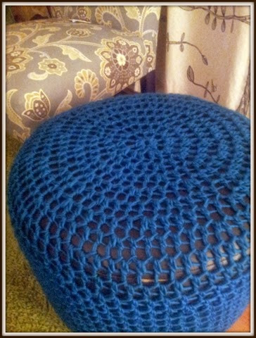 Stitch Fetish Crochet Ottoman Cover