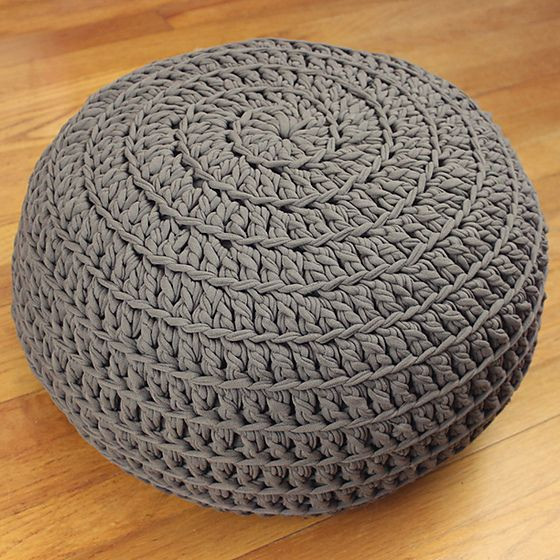 Crochet Ottoman Inspirational Free Crochet Pattern Poof Floor Pillow Pouf Ottoman Of Incredible 42 Ideas Crochet Ottoman