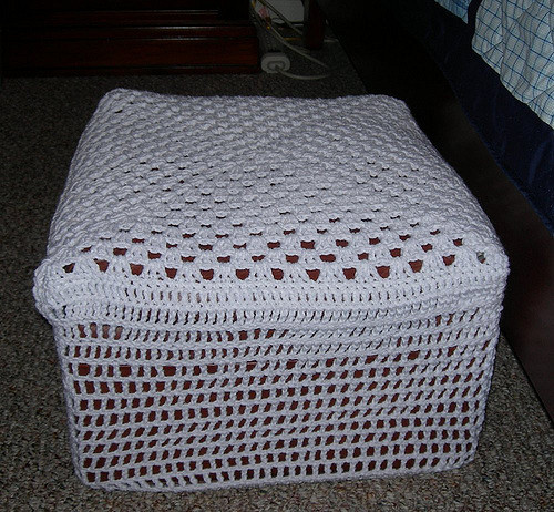 Crochet Ottoman Unique Crocheted Ottoman Cover Of Incredible 42 Ideas Crochet Ottoman