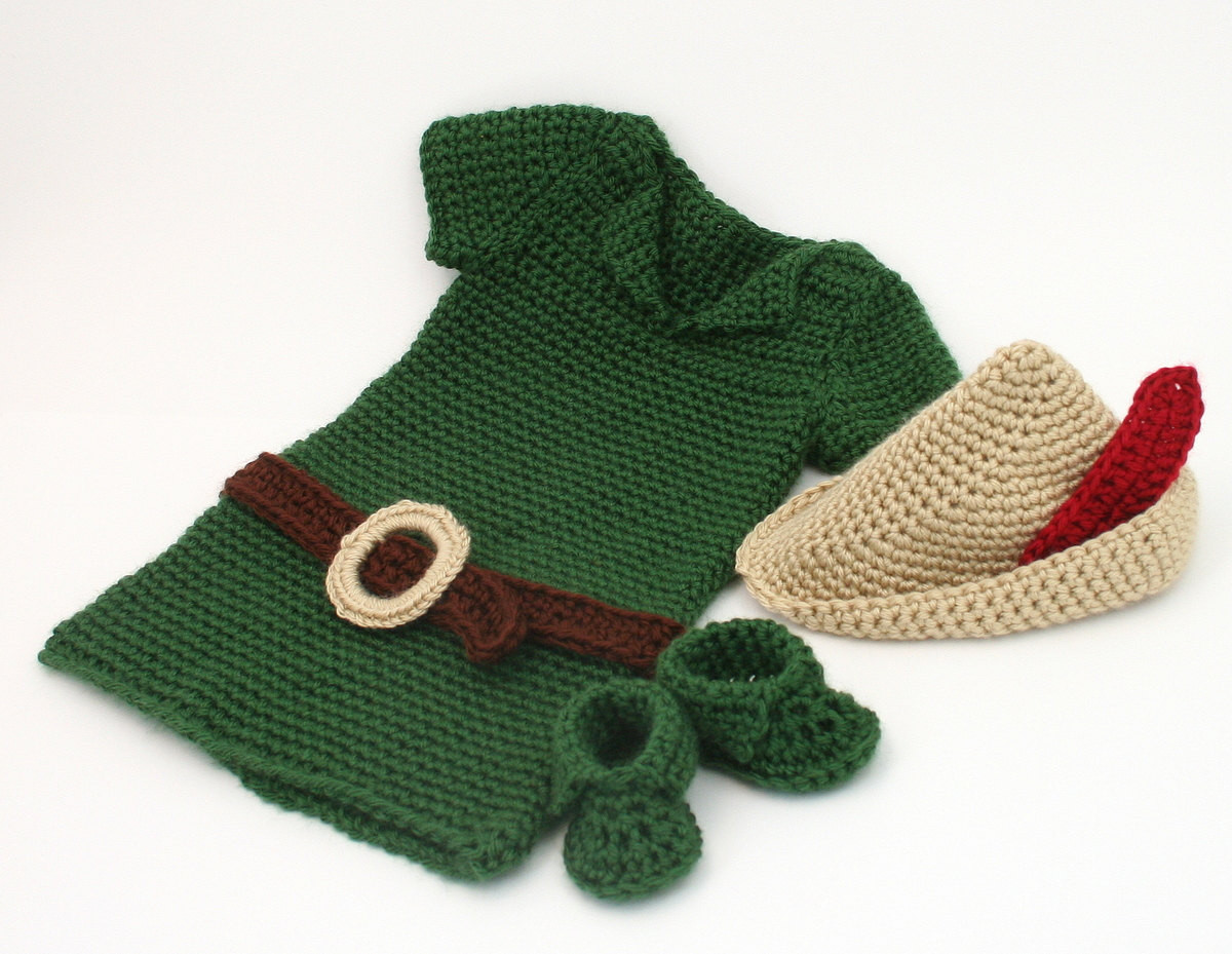 Crochet Outfit Awesome Crochet Peter Pan Costume Baby Robin Hood Of Gorgeous 41 Ideas Crochet Outfit