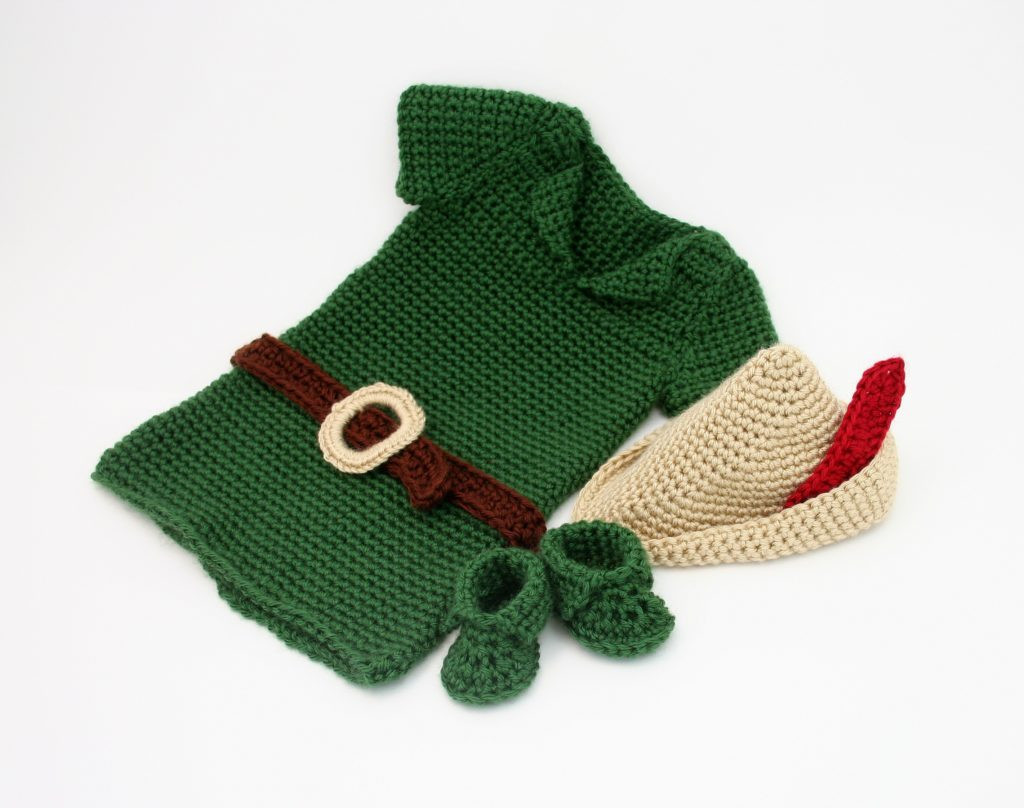 Crochet Outfit Inspirational Crochet Peter Pan Costume Baby Robin Hood Of Gorgeous 41 Ideas Crochet Outfit