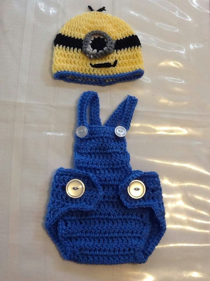 Crochet baby boy Minion outfit My projects