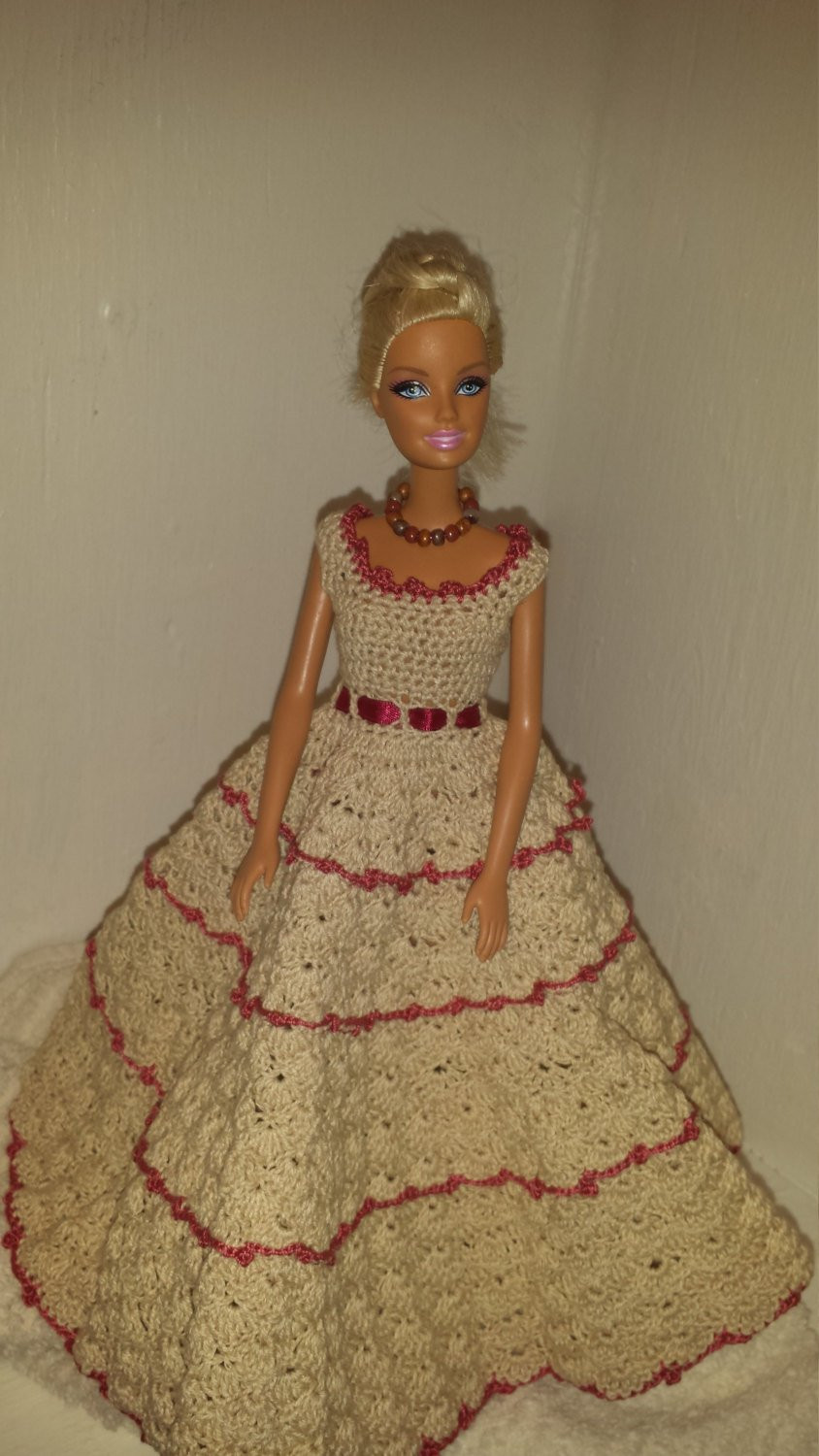 Crochet Outfits Beautiful Crochet Barbie Clothes Barbie Doll Outfit Handmade Barbie Of Great 42 Ideas Crochet Outfits