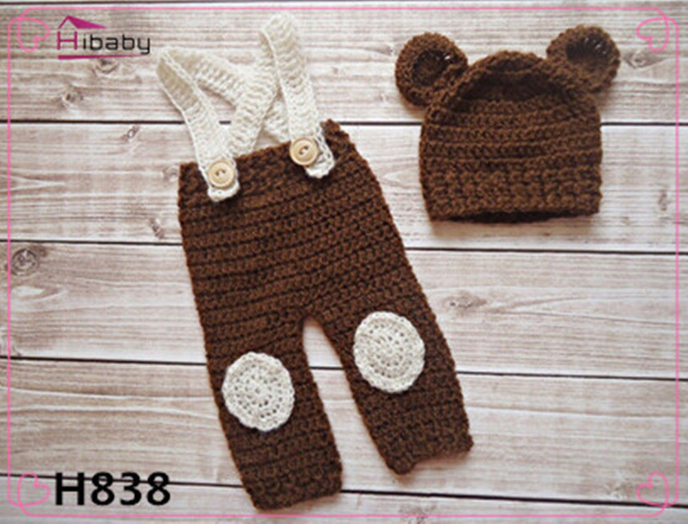 Crochet Outfits Beautiful New Baby Bear Weenie Newborn Knit Crochet Clothes Of Great 42 Ideas Crochet Outfits