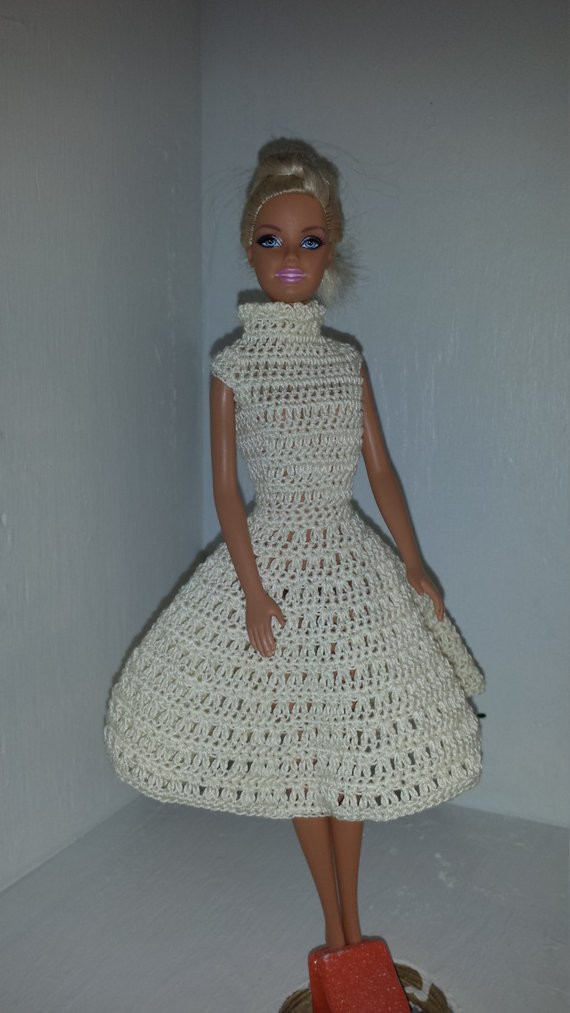 Crochet Outfits Best Of Crochet Barbie Dress Fashion Doll Crocheted Clothing Of Great 42 Ideas Crochet Outfits