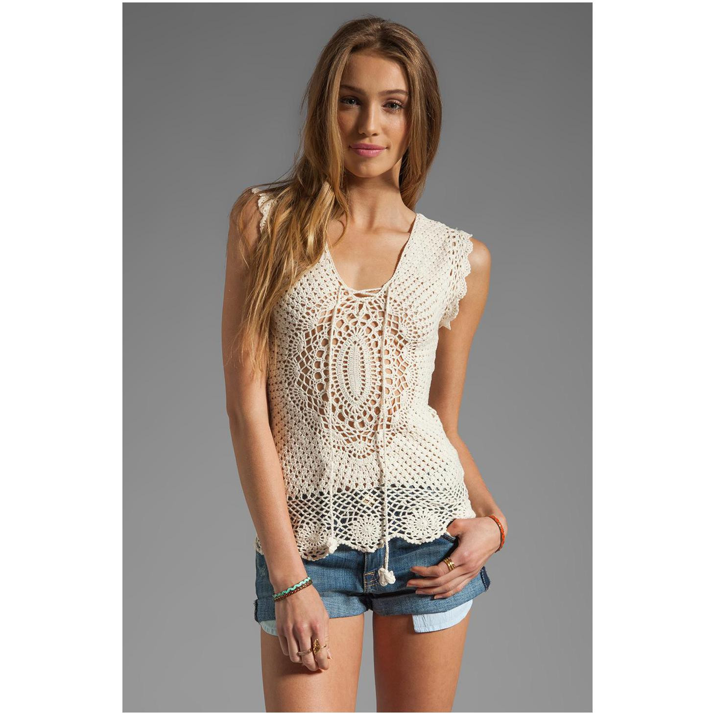 Crochet Outfits Elegant Easy Style Crochet top for Fashion La S – Designers Of Great 42 Ideas Crochet Outfits