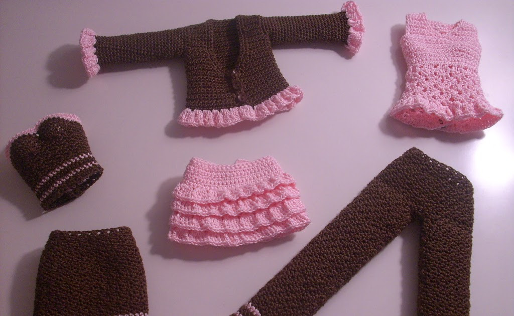 Crochet Outfits Unique Crochet for Barbie the Belly button Body Type Starting Of Great 42 Ideas Crochet Outfits