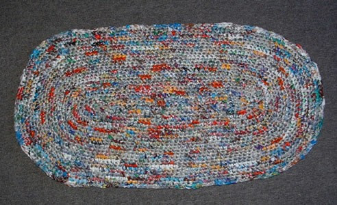 Crochet Oval Rug Lovely Crocheting A Rug Using Plarn Of Charming 49 Images Crochet Oval Rug