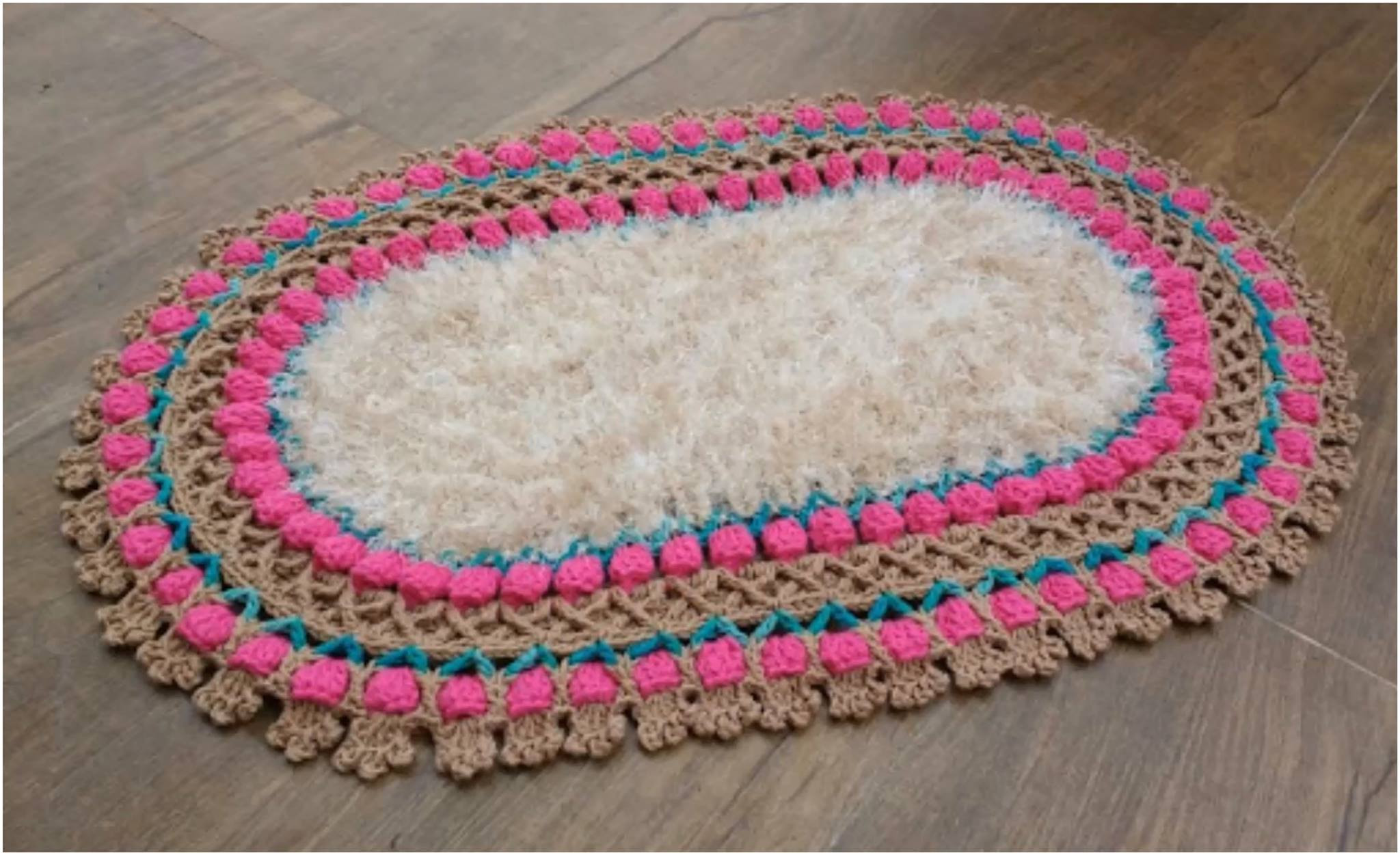 Crochet Oval Rug Luxury Crochet Archives Page 3 Of 8 Yarnandhooks Of Charming 49 Images Crochet Oval Rug