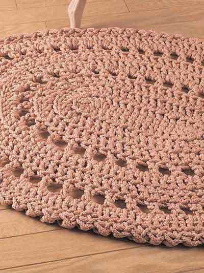 Crochet Oval Rug Unique 19 Crochet Rug Patterns Of Charming 49 Images Crochet Oval Rug