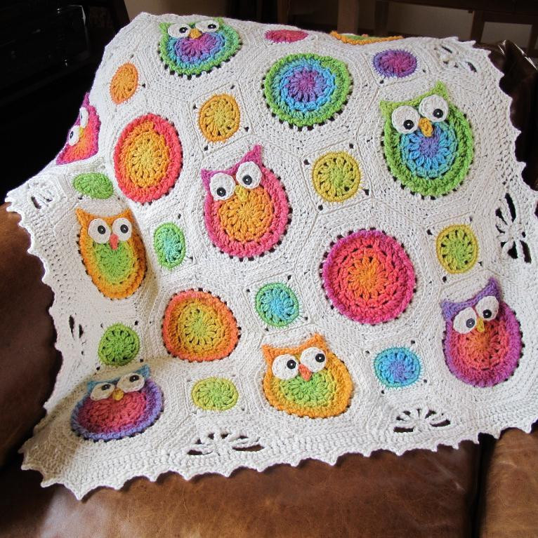 Crochet Owl Blanket Awesome Owl Obsession Crochet Blanket Patternallcrafts Free Crafts Of Contemporary 43 Images Crochet Owl Blanket