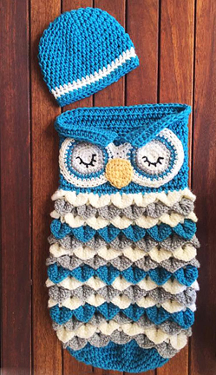 Crochet Owl Blanket Beautiful Crochet Baby Cocoon Patterns On Craftsy Of Contemporary 43 Images Crochet Owl Blanket