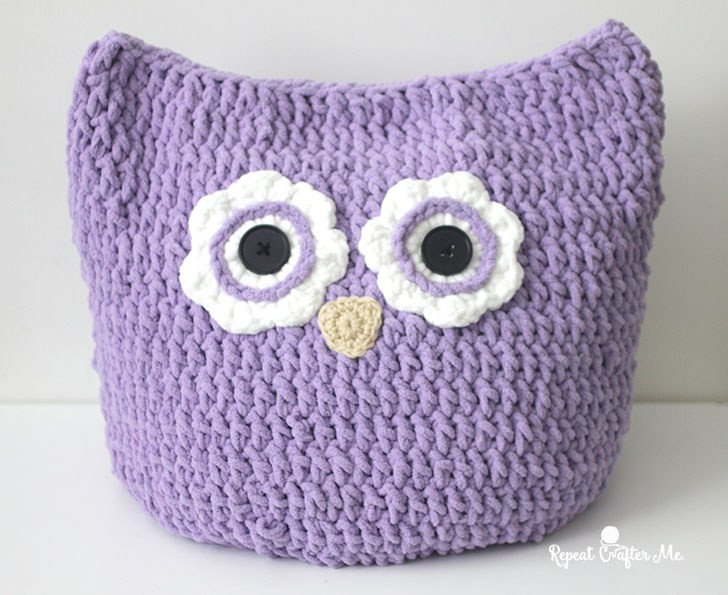 Crochet Owl Blanket Beautiful Crochet Oversized Owl Pillow Repeat Crafter Me Of Contemporary 43 Images Crochet Owl Blanket