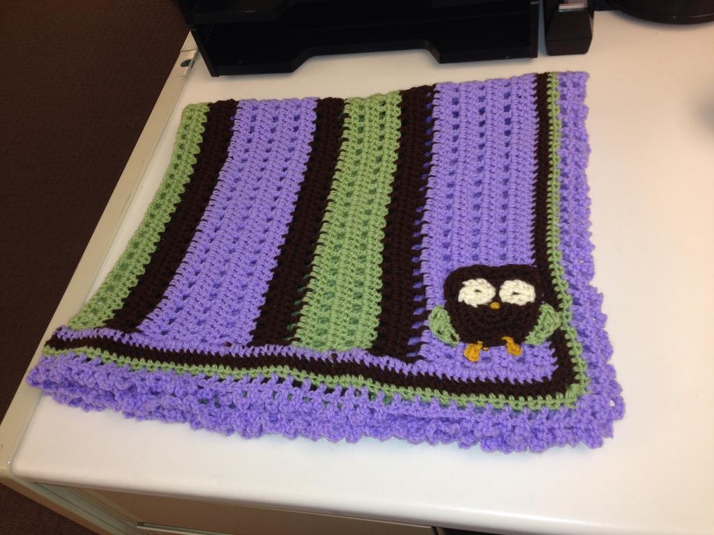 Crochet Owl Blanket Elegant You Have to See Crochet Baby Owl Blanket On Craftsy Of Contemporary 43 Images Crochet Owl Blanket