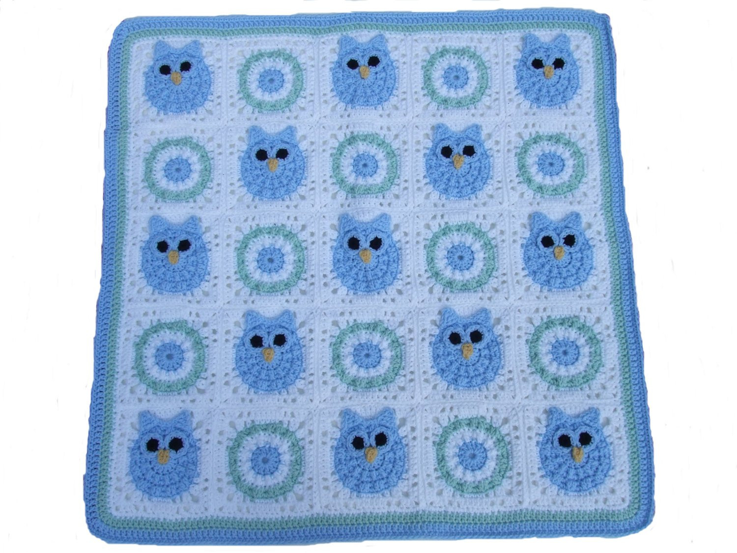 Crochet Owl Blanket Pattern Best Of Crochet Pattern Cv111 Owl Baby Blanket Baby Boy Baby Girl Of Luxury 42 Models Crochet Owl Blanket Pattern
