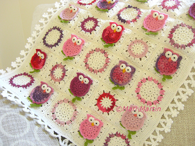 Crochet Owl Blanket Pattern Fresh Owl Blanket Crochet Fantasy by Mari Martin Craftsy Of Luxury 42 Models Crochet Owl Blanket Pattern
