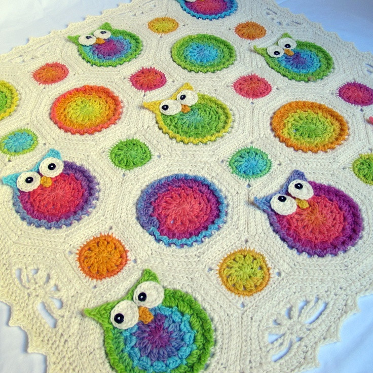Crochet Owl Blanket Pattern Inspirational Crochet Pattern Owl Obsession A Colorful Owl Afghan Pattern Crochet Blanket Pattern Baby Of Luxury 42 Models Crochet Owl Blanket Pattern