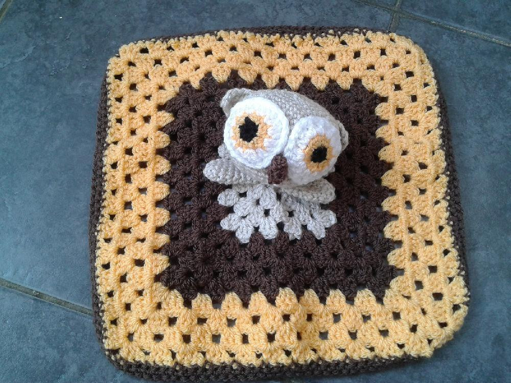 Crochet Owl Blanket Pattern Unique Hooty the Owl Lovey forter Crochet Pattern by Laura Tegg Crochet Patterns Of Luxury 42 Models Crochet Owl Blanket Pattern