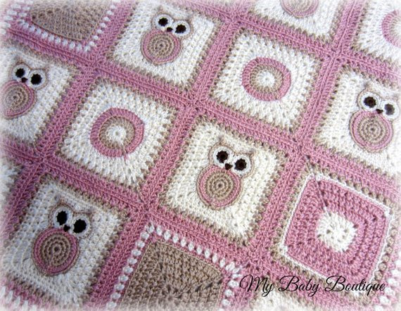 Crochet Owl Blanket Unique X N O S Owl Baby Blanket Crochet Pattern Throw Of Contemporary 43 Images Crochet Owl Blanket