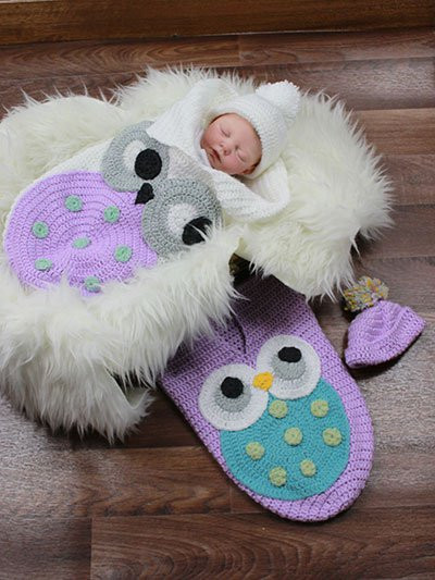 Crochet Owl Cocoon Luxury Crochet Cute Baby Owl Cocoon with Pattern Page 2 Of 2 Of Amazing 44 Models Crochet Owl Cocoon