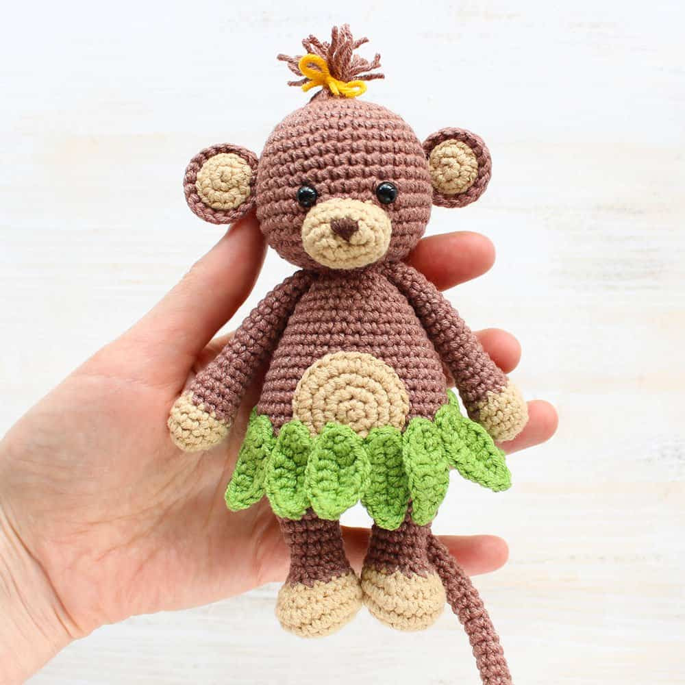 Cuddle Me Monkey amigurumi pattern Amigurumi Today