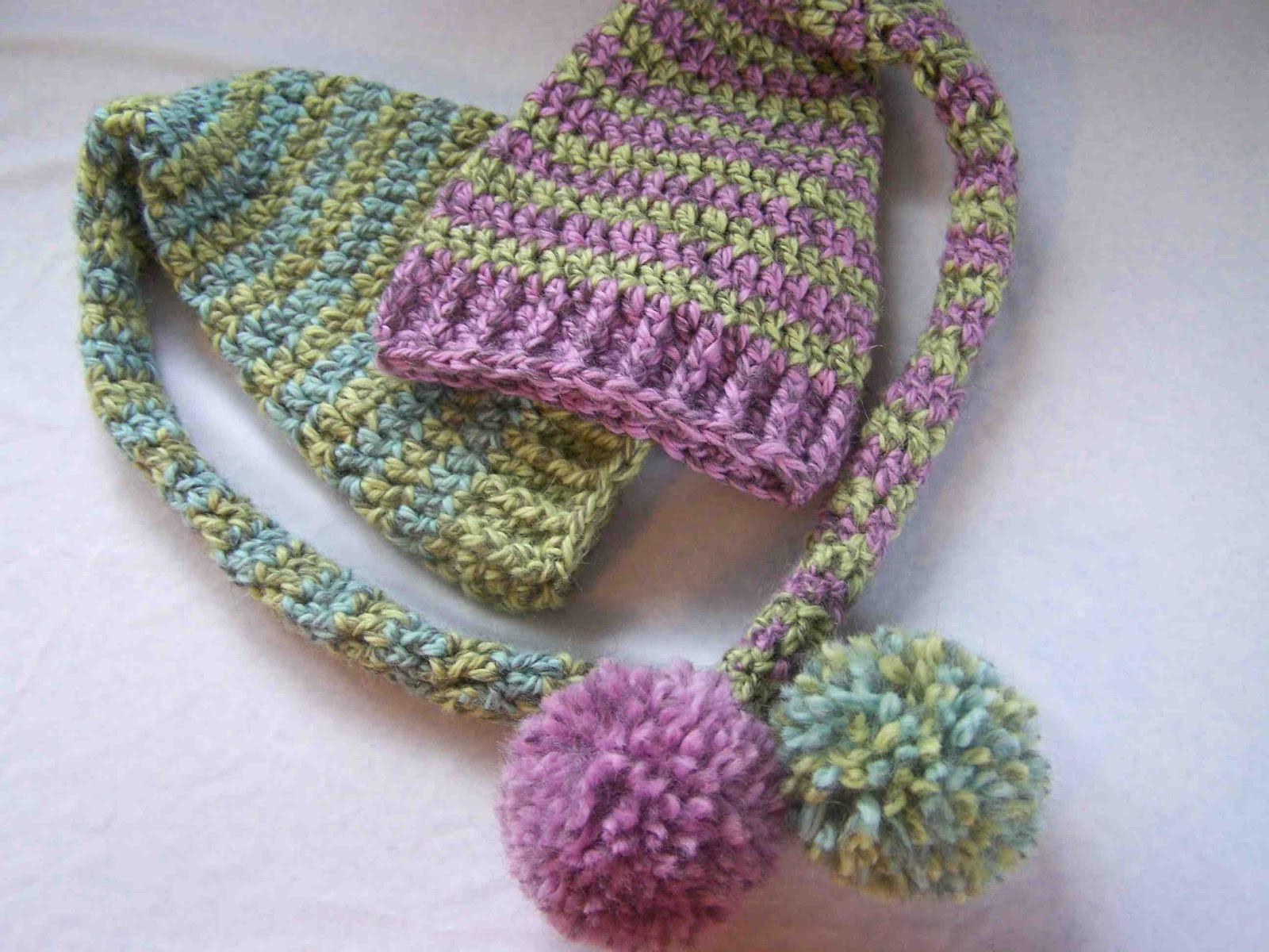 Crochet Patterns for Beginners Luxury Made by Me D with You Beginners Crochet Baby Elf Hats Of New 49 Models Crochet Patterns for Beginners