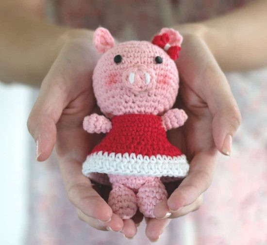 Crochet Pig Pattern Video Tutorial Lots Cute Ideas