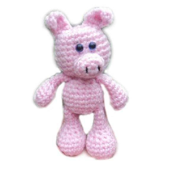 Crochet Pig Pattern Beautiful 1000 Images About Crochet Pigs On Pinterest Of Adorable 49 Models Crochet Pig Pattern