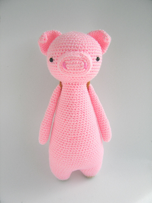 Crochet Pig Pattern Beautiful Tall Pig with Backpack Amigurumi Pattern Of Adorable 49 Models Crochet Pig Pattern