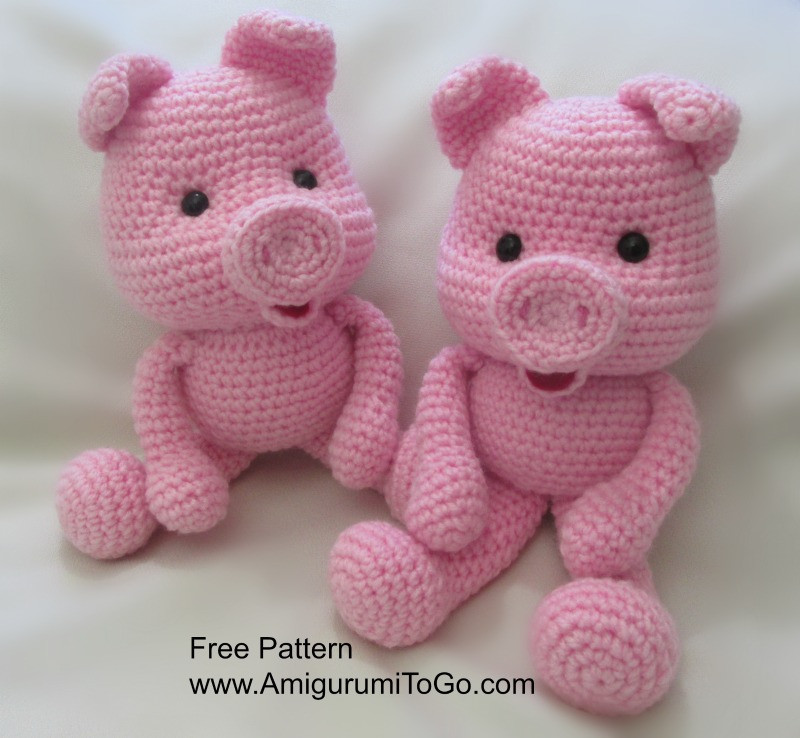 Crochet Pig Pattern Best Of Crochet Along Pig Amigurumi to Go Of Adorable 49 Models Crochet Pig Pattern