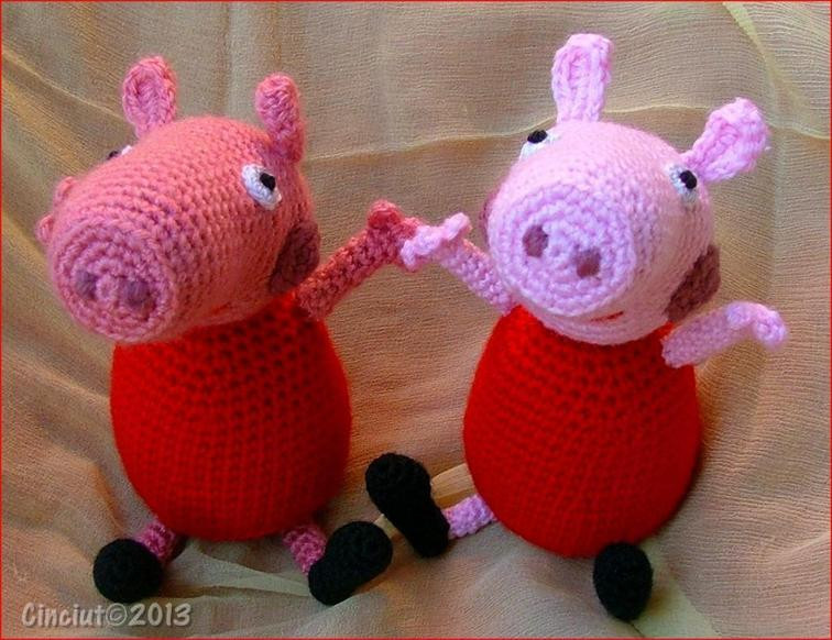 Crochet Pig Pattern Best Of Peppa Pig Amigurumi Of Adorable 49 Models Crochet Pig Pattern