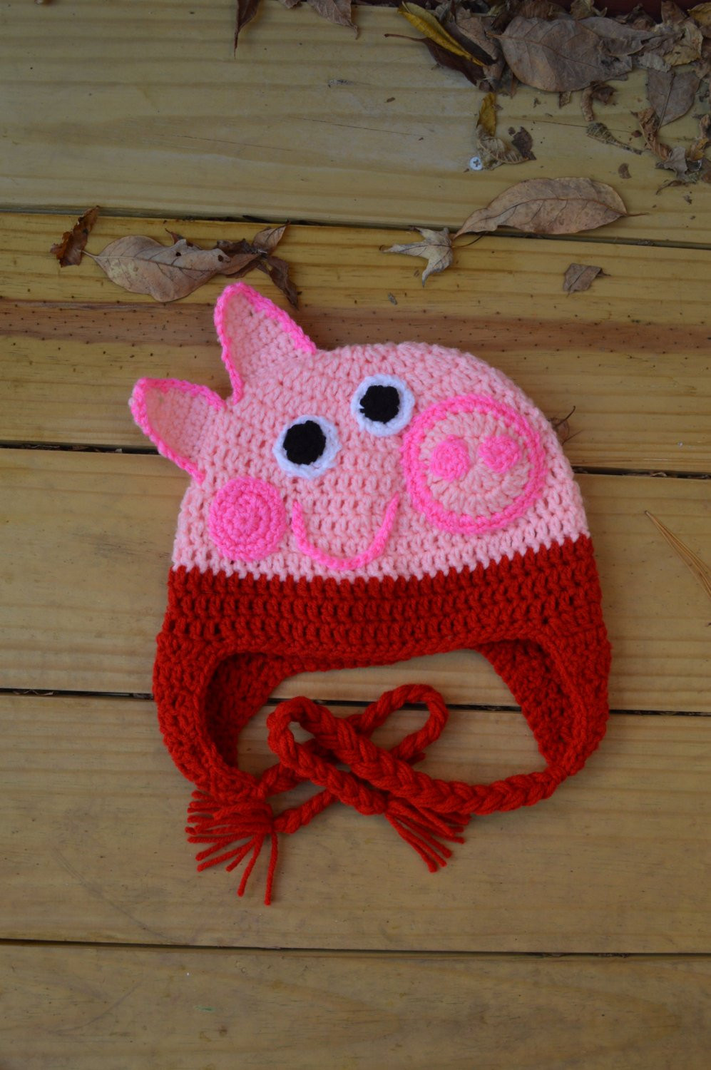 Crochet Pig Pattern Best Of Peppa Pig Crochet Hat Of Adorable 49 Models Crochet Pig Pattern