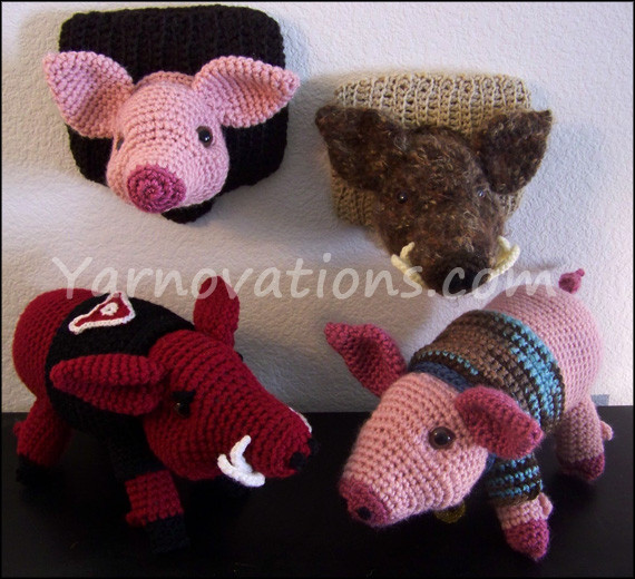 "Crochet Pig Pattern Best Of Pig and Wild Boar Crochet Pattern ""pork Chop"" Of Adorable 49 Models Crochet Pig Pattern"