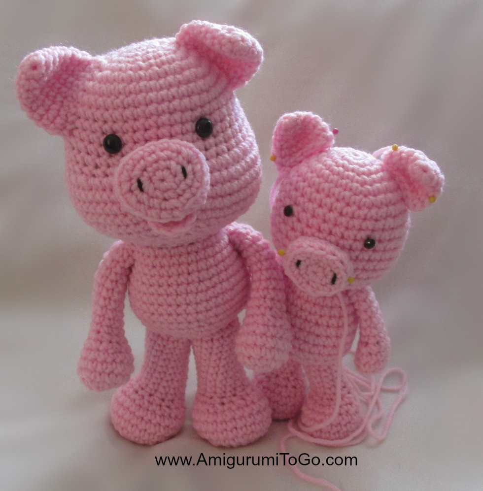 Crochet Pig Pattern Elegant Big Piggy Little Pig New Pattern Ing Amigurumi to Go Of Adorable 49 Models Crochet Pig Pattern